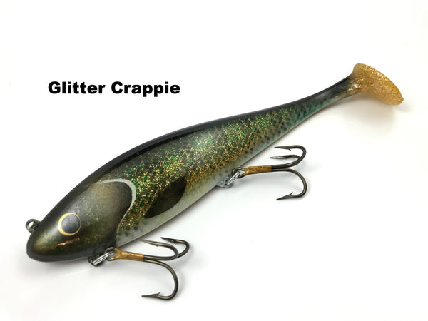 Musky Innovations Regular Swimmin' Dawg - Glitter Crappie