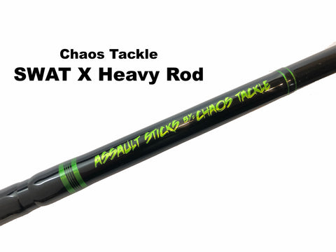 Chaos Tackle  Original Assault Stick - SWAT X Heavy 1 Piece - Shipping to WI, IL, MN, IA, ND, SD only. ($194.99 plus $15.95 shipping)