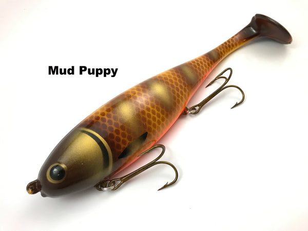 Musky Innovations Magnum Shallow Swimmin' Dawg - Mud Puppy