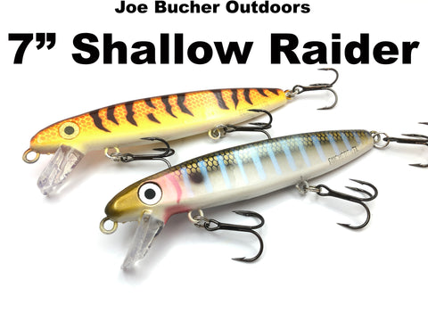 "Joe Bucher Outdoors 7"" Shallow Raider"