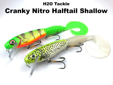 H2O Tackle Cranky Nitro Halftail Shallow