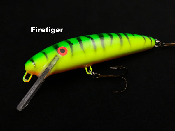 "Slammer Tackle 5"" Shallow Minnow - Firetiger"