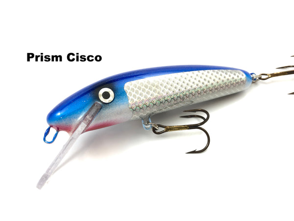 "Slammer Tackle 5"" Shallow Minnow - Prism Cisco"