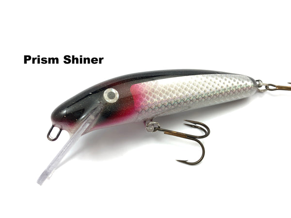 "Slammer Tackle 5"" Shallow Minnow - Prism Shiner"