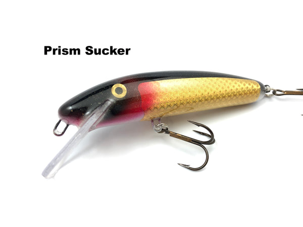 "Slammer Tackle 5"" Shallow Minnow - Prism Sucker"