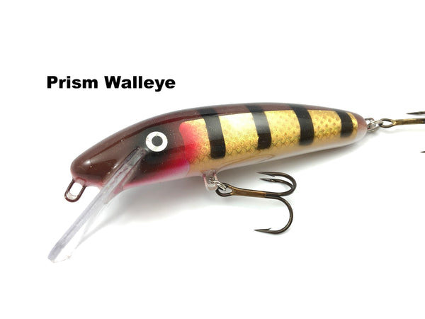 "Slammer Tackle 5"" Shallow Minnow - Prism Walleye"