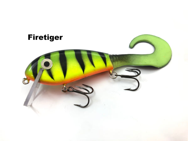 "Smoker Tackle 4.5"" Squirrely SS Shad"