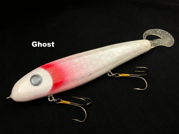 "Phantom Lures 10"" Phantom Soft Tail - Ghost"