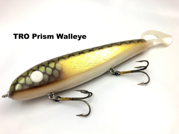 "Phantom Lures 10"" Phantom Soft Tail - TRO Prism Walleye"