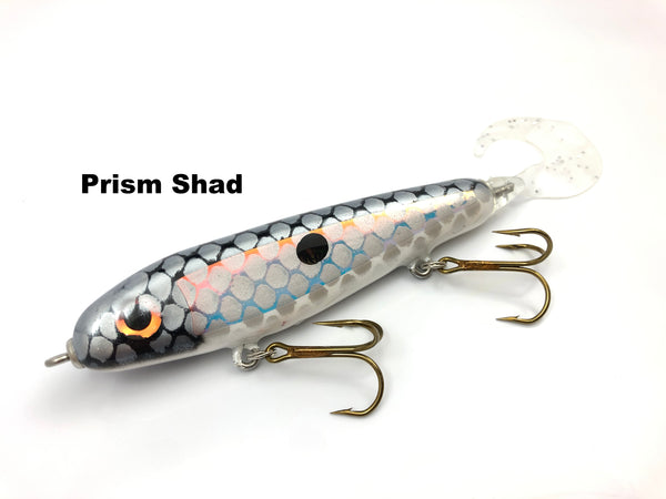 "Phantom Lures 6"" Phantom Soft Tail - Prism Shad"
