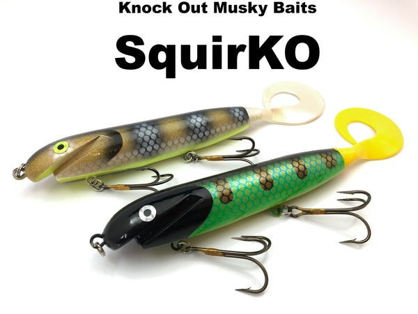 Knock Out Musky Baits Squirko