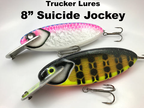 "Trucker Lures 8"" Suicide Jockey"