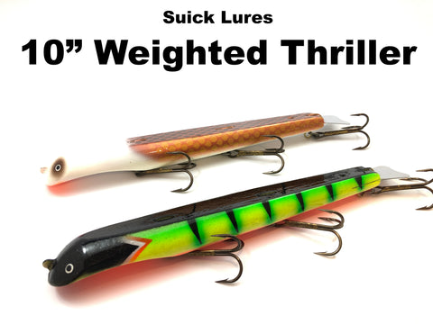 "Suick 10"" Weighted Thrillers"