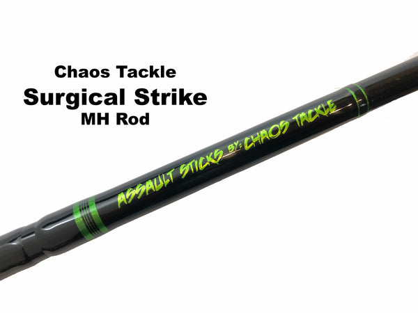 Chaos Tackle Original Assault Stick - Surgical Strike MH 1 Piece - Shipping to WI, IL, MN, Iowa only.