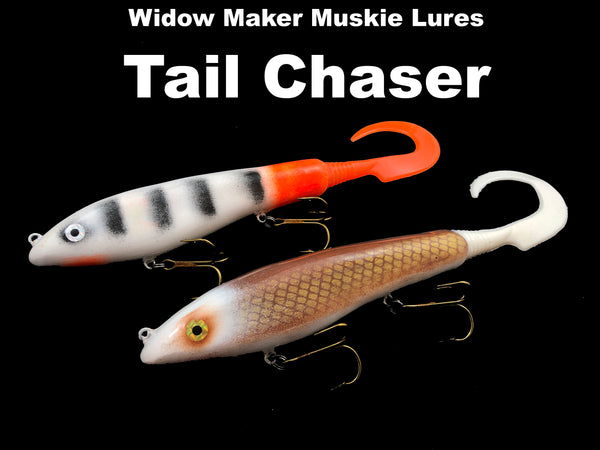 Widow Maker Muskie Lures - Tail Chaser