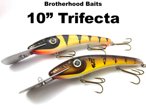 "Brotherhood Baits 10"" Trifecta"