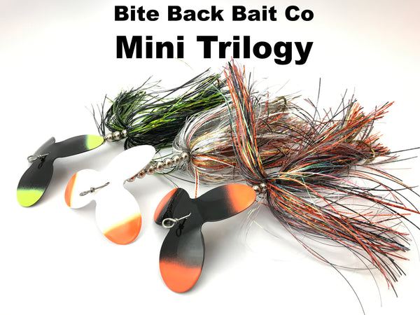 Bite Back Bait Company Mini Trilogy