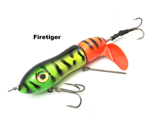 Big Mama Lures Twisted Sister Clicker - Firetiger
