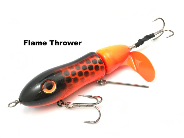 Big Mama Lures Twisted Sister Clicker - Flame Thrower
