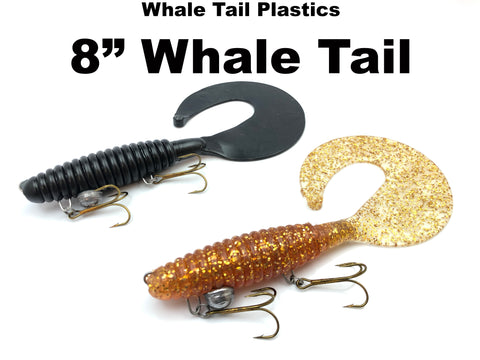 "Whale Tail Plastics 8"" Whale Tail"