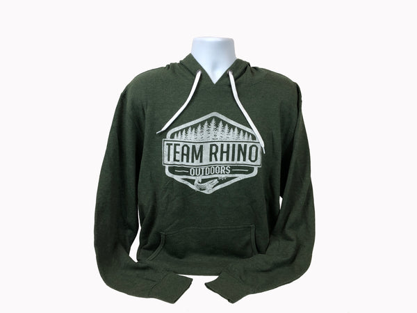 TRO - Wilderness Light Weight Hoodie Forest Green