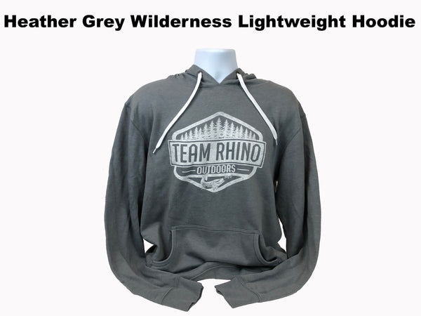 TRO - Wilderness Light Weight Hoodie Heather Grey
