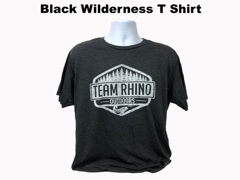 TRO - Wilderness Short Sleeve T Shirt Black