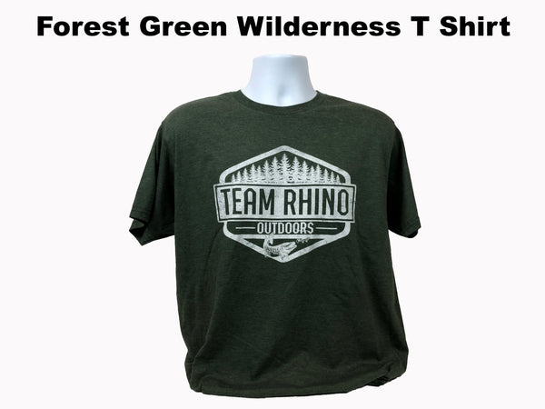 TRO - Wilderness Short Sleeve T Shirt Forest Green