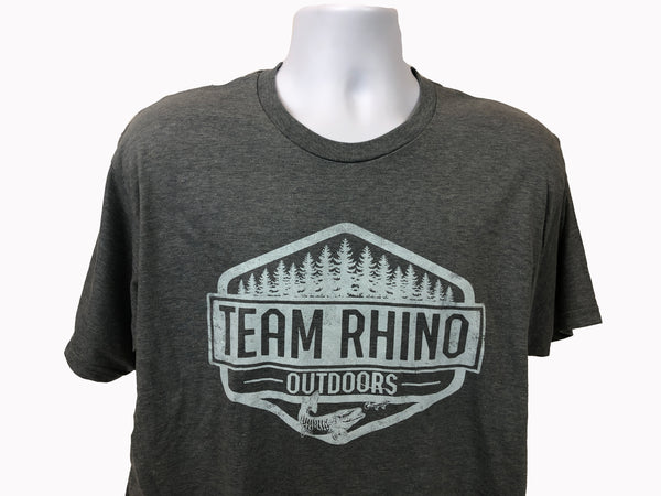 TRO - Wilderness Short Sleeve T Shirt Heather Grey