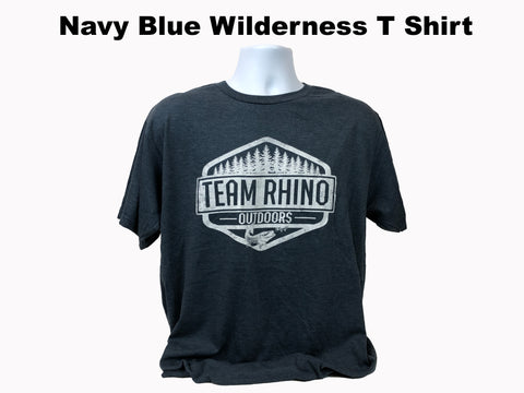 TRO - Wilderness Short Sleeve T Shirt Navy Blue