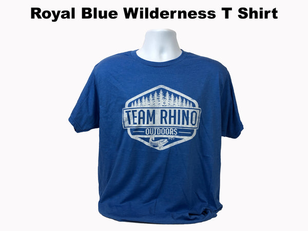 TRO - Wilderness Short Sleeve T Shirt Royal Blue
