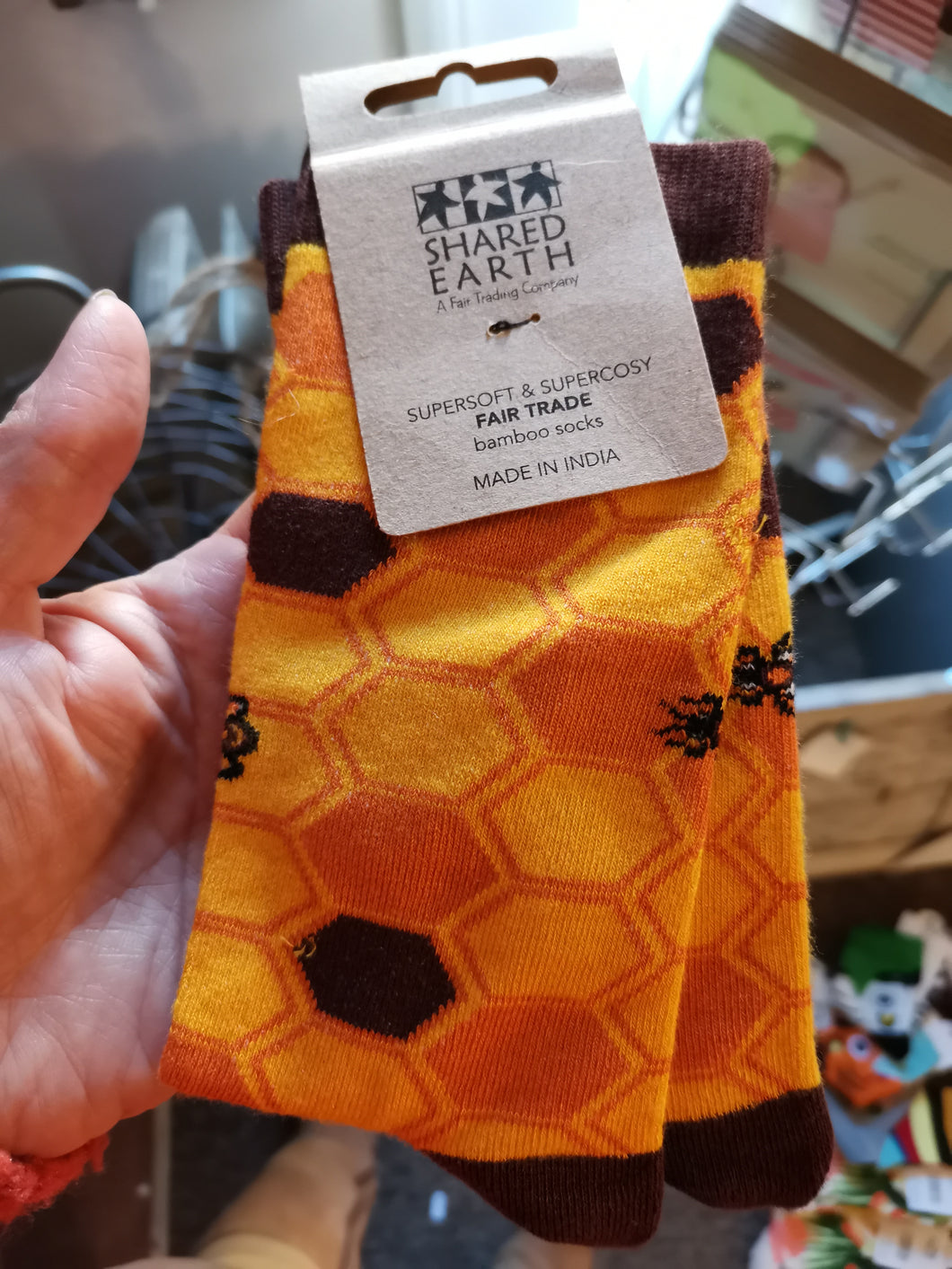Bamboo Bee Socks