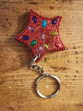 Load image into Gallery viewer, Fair trade sparkly keyrings