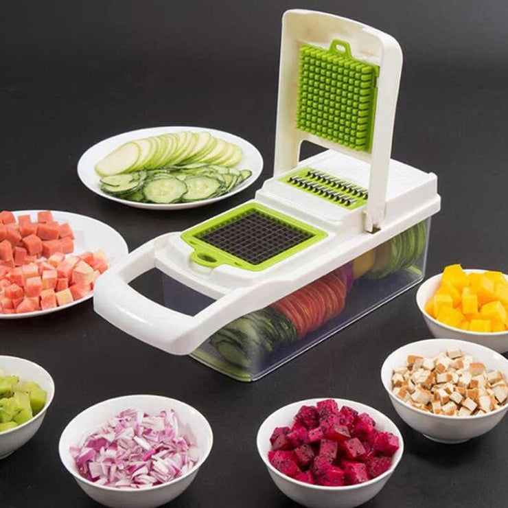 Multifunctional Vegetable Cutter White