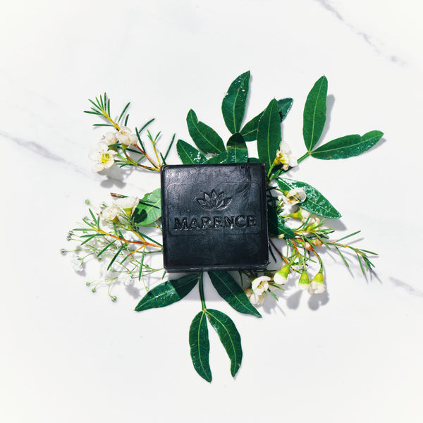 Green Mud Soap, Bergamot / Patchouli 130g