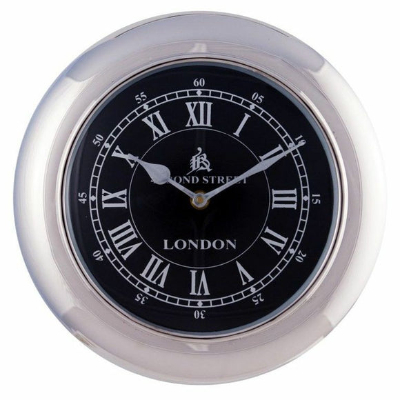 Retro Wall Clock 31cm Black - GH-750 B