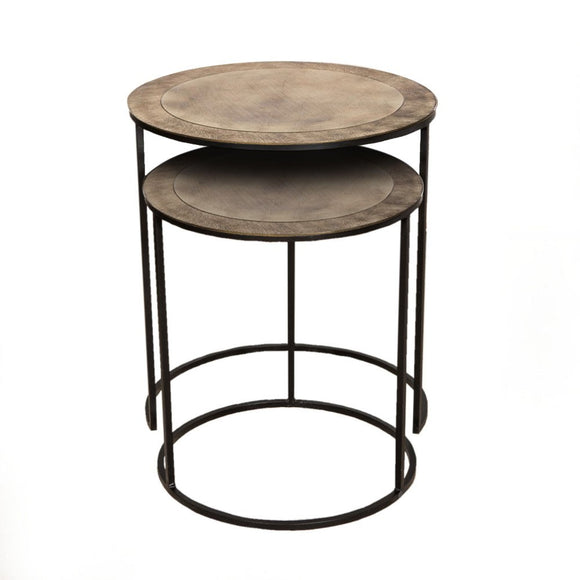 Philip Side table Br S/2 - GH-349 BR - PRE ORDER NOW !