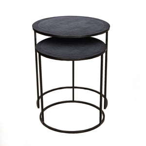 Philip Side table BN S/2   - GH-349 BN - Limited stock available !