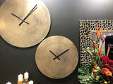 Wall Clock Brass 60cm   - GGI-434 ABM - NEW !!