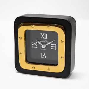 Retro Desk clock black small - JK-25 SB - NEW !