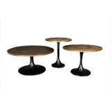 Cafe Coffee table Brass Top L - GGI SMP-15 L - LOW STOCK