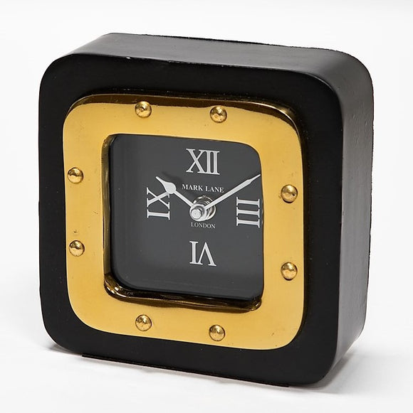 Retro Desk clock black large - JK-25 LB - NEW !