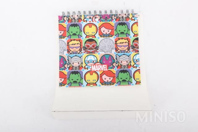 Load image into Gallery viewer, MINISO x Marvel - Calendar Daily Planners/Inspirational Standing Flip Calendar