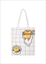 Sanrio Gudetama shopping bag