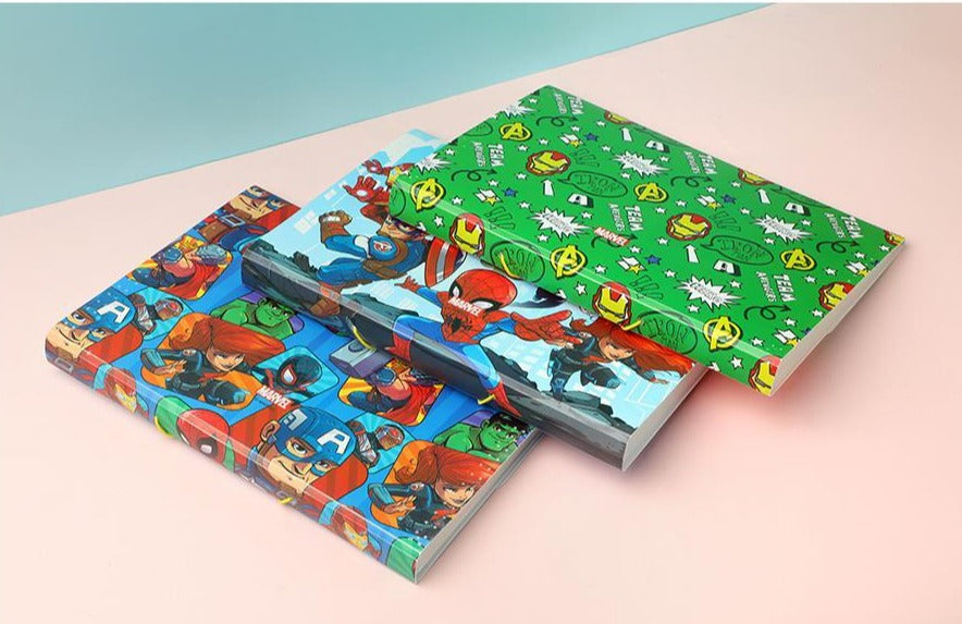MINISO x Marvel - Expanding File Folder with Elastic Band (Random Colour)