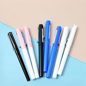 Load image into Gallery viewer, MINISO Solid Gel Ink Pen Cap Type 0.5mm ( Blue )