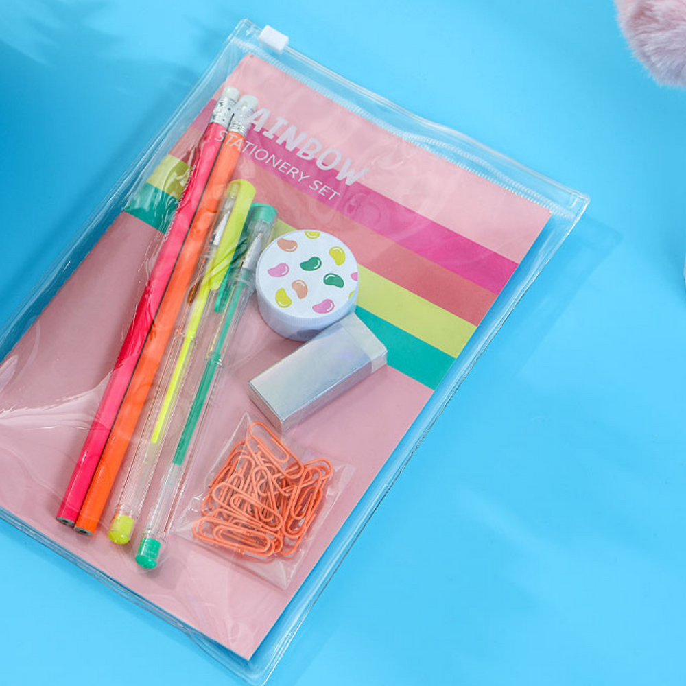 Charger l'image dans la galerie, MINISO Candy Rainbow Series - Stationery Set