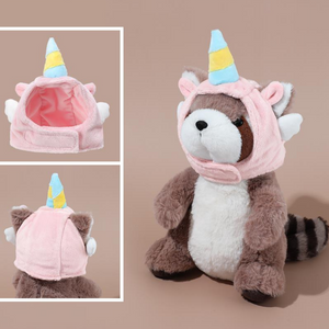 MINISO Unicorn Costume for Pet Dress Up, Mixed Color