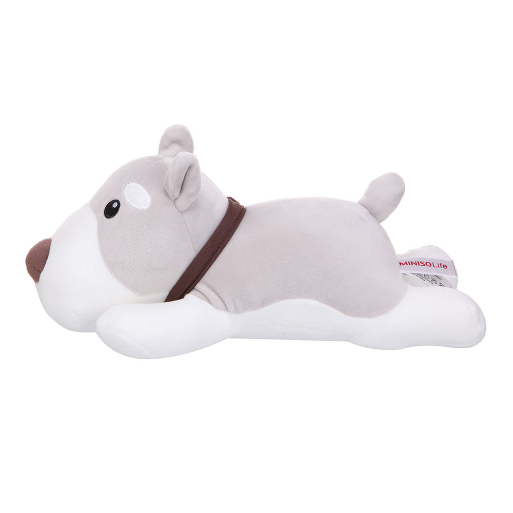 "MINISO Schnauzer 10"" Cute Plush Soft Toy"