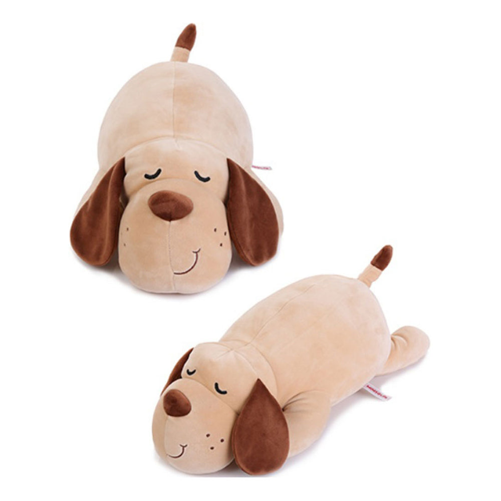Load image into Gallery viewer, MINISO Lying Dog Plush Toy (Khaki)